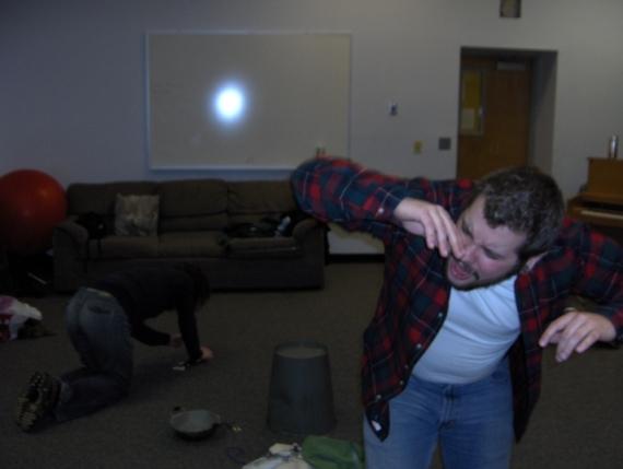 Quake (in rehearsal)